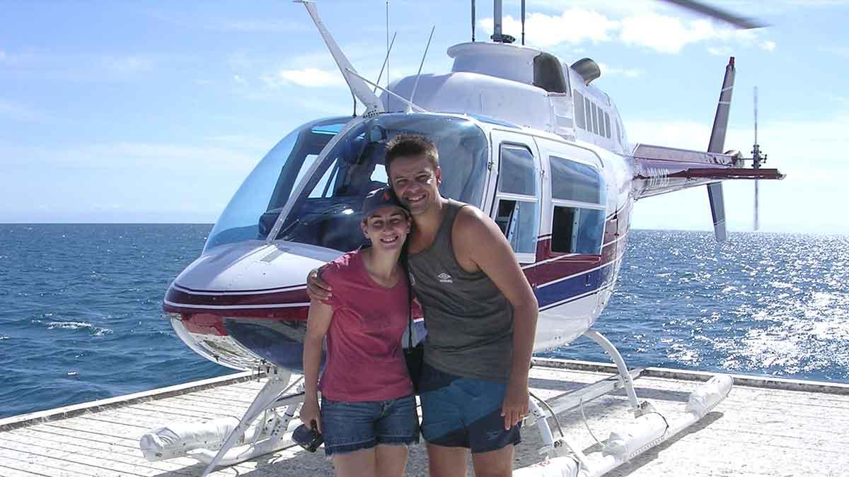 André Strauss, o Milhanário - Helicóptero