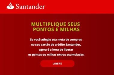 Santander Promoção Boomerang